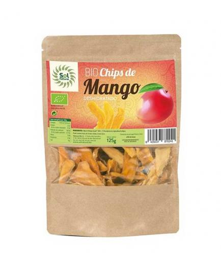 Solnatural - Organic Dehydrated Mango Chips 125g