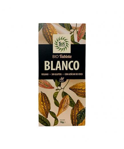 Solnatural - Organic vegan white chocolate 70g