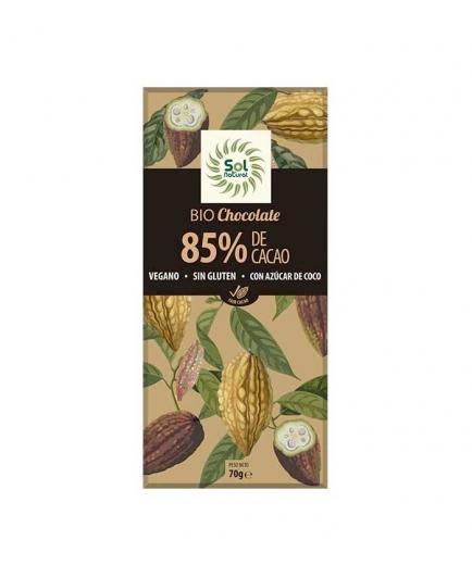 Solnatural - Vegan Chocolate 85% Cocoa Bio 70g