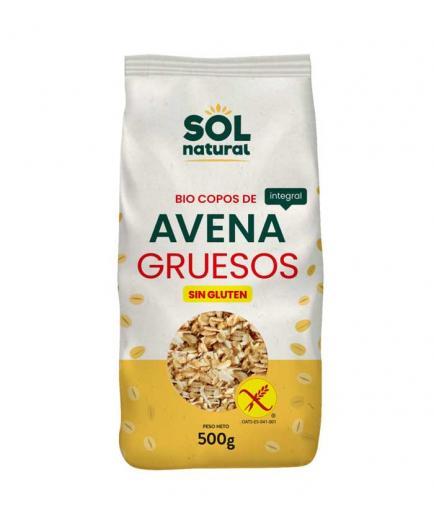 Solnatural - Bio gluten-free whole oat coarse flakes 500g