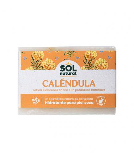 Solnatural - Natural solid soap 100g - Moisturizing calendula for dry skin