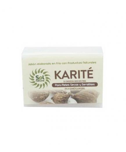 Solnatural - Natural solid soap 100g - Shea for dry and sensitive skin