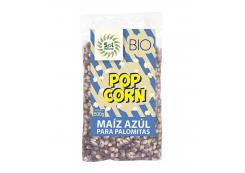Solnatural - Organic corn for popcorn 500g - Blue