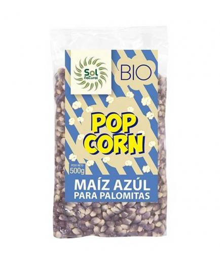 Solnatural - Organic corn for popcorn 500g - Blue