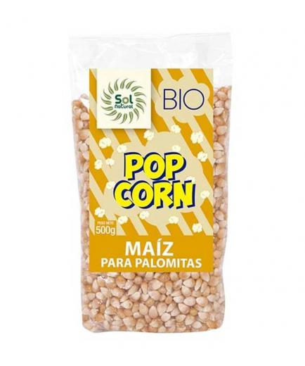 Solnatural - Organic corn for popcorn 500g - Original