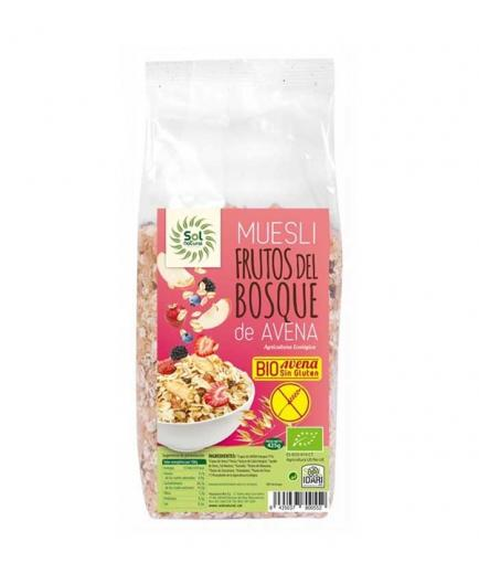 Solnatural - Oat muesli with fruits of the forest Bio 425g