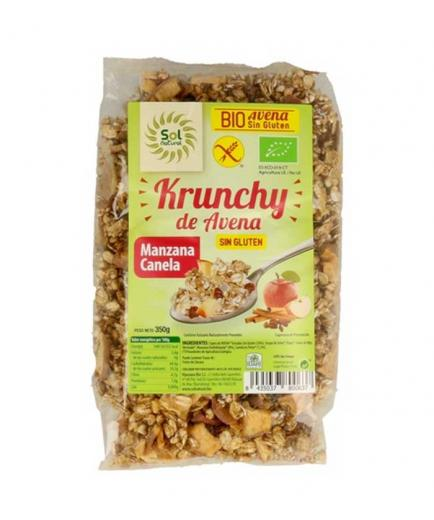 Solnatural - Gluten Free Oatmeal Krunchy Muesli with Apple and Cinnamon