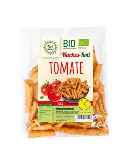 Solnatural - Corn nachos Roll with organic gluten-free tomato
