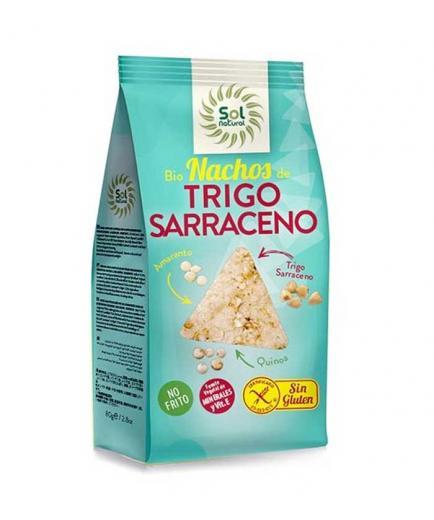 Solnatural - Organic saracene wheat nachos with amaranth and quinoa, gluten free
