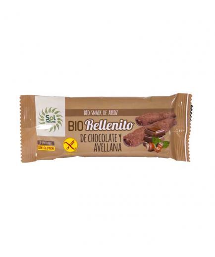 Solnatural - Organic gluten-free chocolate and hazelnut fillings 25g