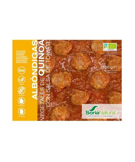 Soria Natural  - Quinoa vegetable meatballs with tomato
