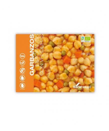 Soria Natural  - Stewed chickpeas with vegetables