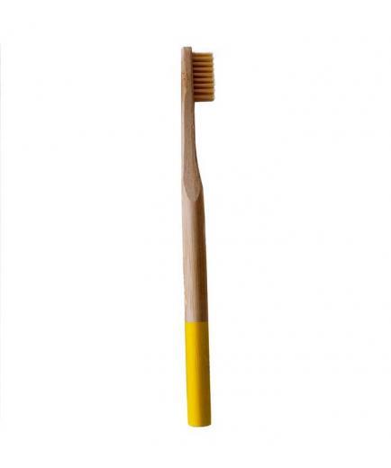 Naturbrush - Bamboo toothbrush - Yellow