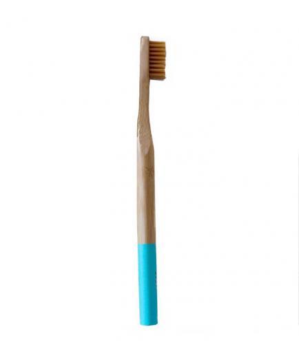 Naturbrush - Bamboo toothbrush - Blue