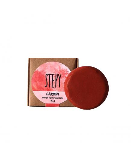 Stepy - Solid shine and regeneration shampoo - Carmín
