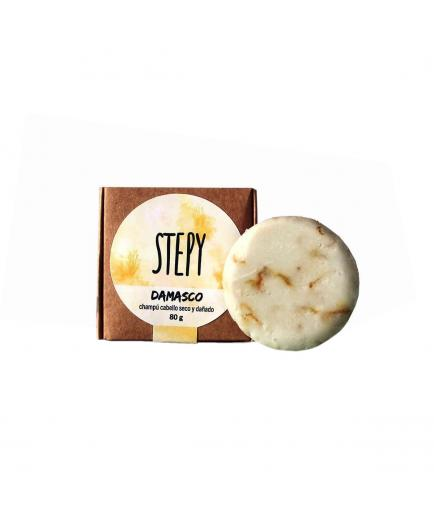 Stepy - Solid shampoo for damaged and dry hair - Damasco