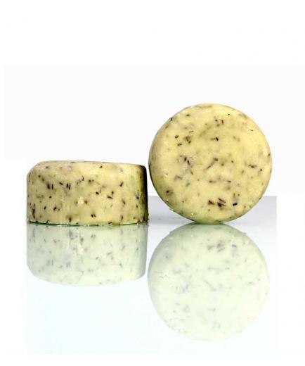 Stepy - Revitalizing and strengthening solid shampoo - Mojito
