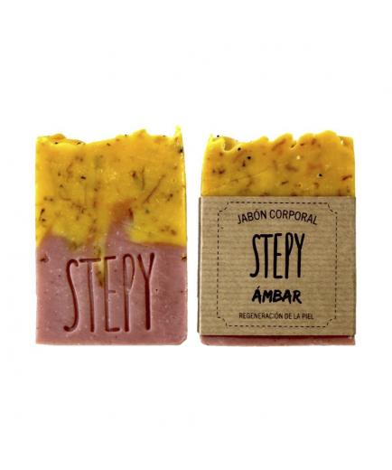 Stepy - Solid body soap dry and sensitive skin - Ámbar