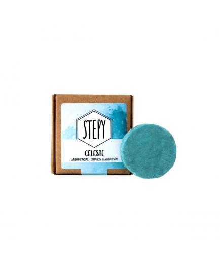 Stepy - Facial soap for mixed and oily skin - Celeste