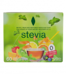 Stevia Premium - Case 60 pods of Stevia sweetener - 60 PCs of 0, 10gr