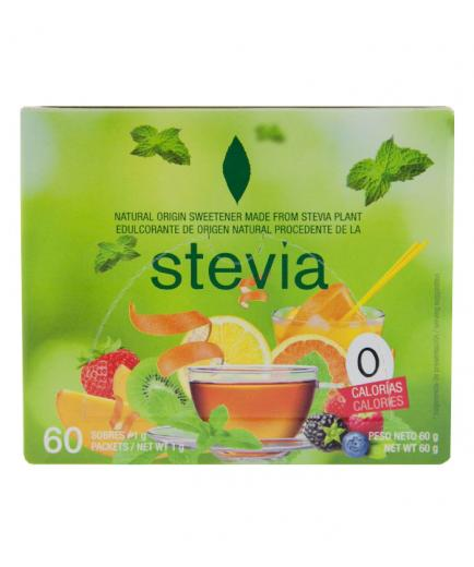 Stevia Premium - Case 60 pods of Stevia sweetener - 60 PCs of 0, 10gr