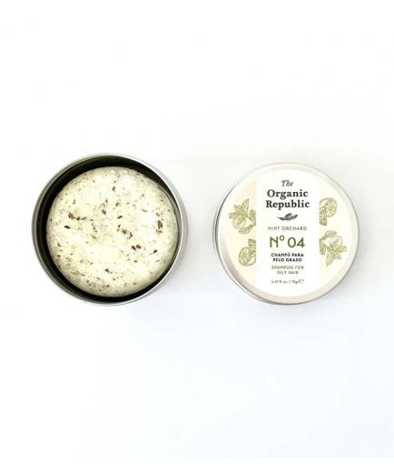 The Organic Republic - Solid Shampoo Mint Orchard - Oily Hair