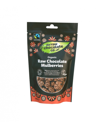 The Raw Chocolate Co - Berries with Chocolate snack - 125g