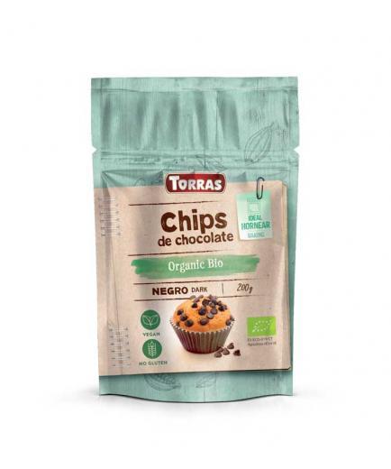 Torras - Dark chocolate drops 70% cocoa Organic Bio 200g