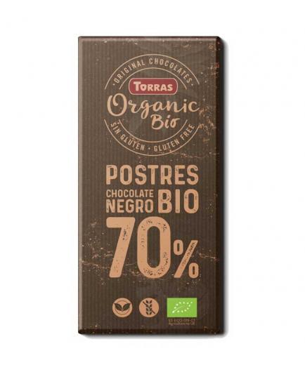Torras - 70% dark chocolate for desserts Organic Bio 200g