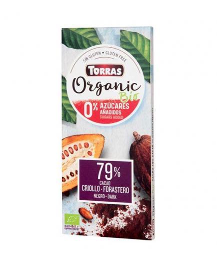 Torras - Dark chocolate 79% cocoa Organic Bio 100g