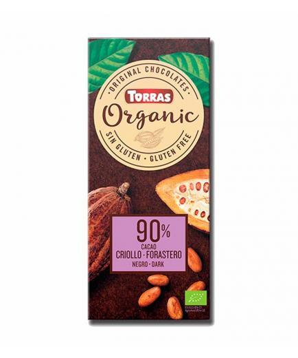 Torras - Dark chocolate 90% cocoa Organic Bio 100g