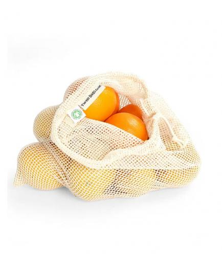 Turtle Bags - Organic cotton bag for net bulk - Medium