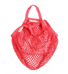Turtle Bags - Net bag with short handle - Red
