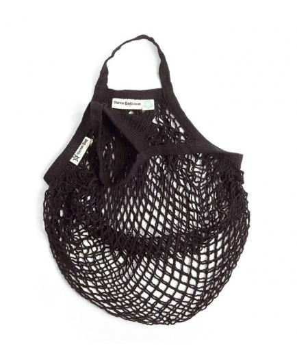 Turtle Bags - Net bag with short handle - Black