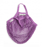 Turtle Bags - Net bag with short handle - Violet