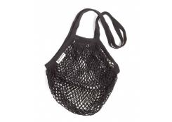 Turtle Bags - Net bag with long handle - Black