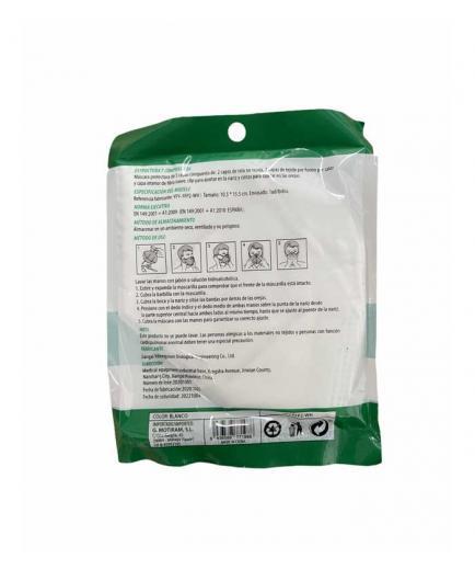 Varios - FFP2 disposable protective mask - White