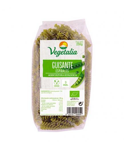 Vegetalia - 100% organic gluten-free pea spirals 250g