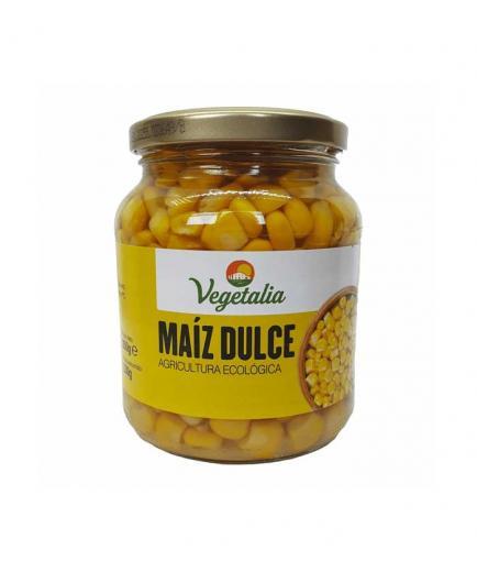 Vegetalia - Organic sweet corn in glass jar 200g
