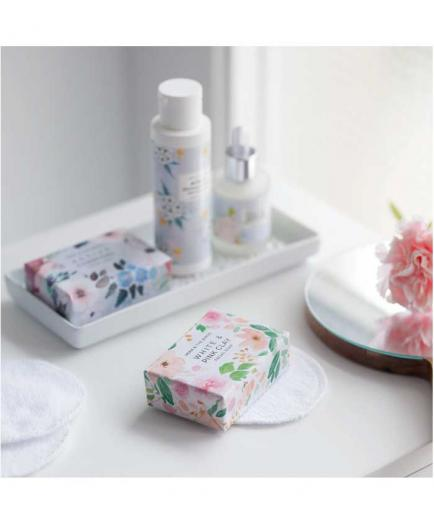 Vera And The Birds - Solid facial soap White and Pink Clay