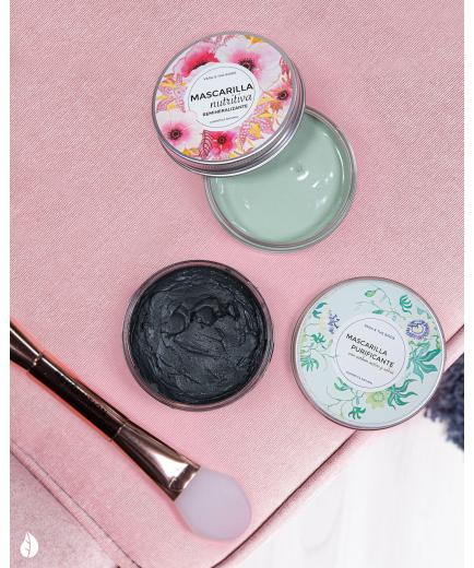 Vera And The Birds - Purifying mask with active carbon and sage