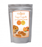 Vitasnack - Natural crunchy fruit snack - khaki