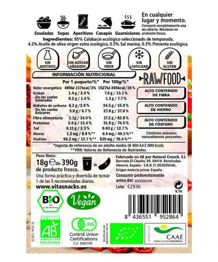 Vitasnack - Natural crunchy fruit snack - Zucchini