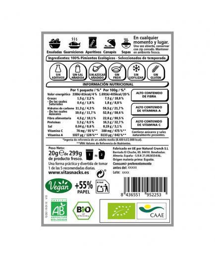Vitasnack - Natural crunchy fruit snack - pepper