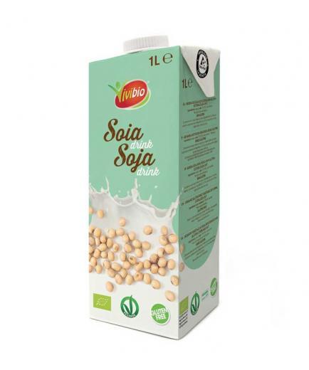 Vivibio - Bio gluten-free soy drink 1L