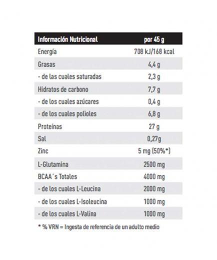 Weider - Protein bar 60% 45g - Vanilla and caramel
