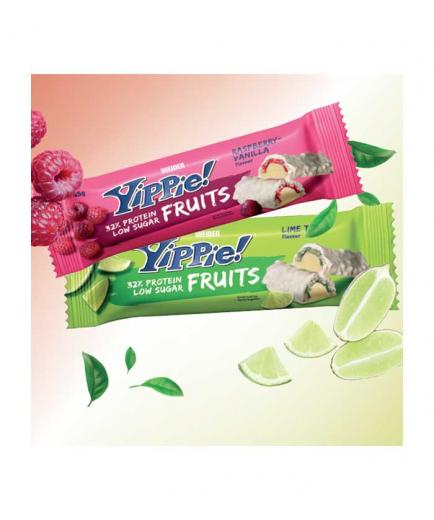 Weider - Yippie Protein Bar! Fruits 45g - Lime cake