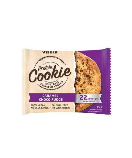 Weider - Vegan protein cookie 90g - Caramel choco fudge