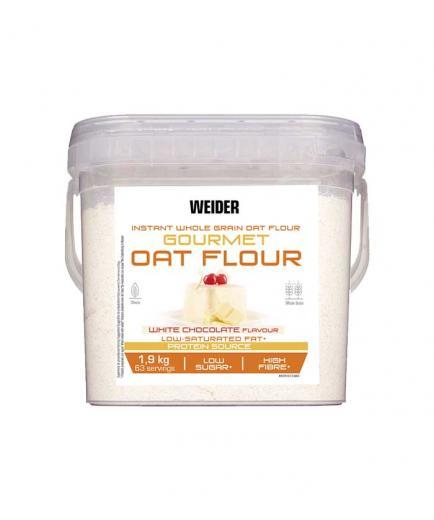 Weider - Oat flour 1.9Kg - White chocolate