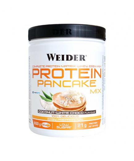 Weider - Protein Pancakes Mix 600g - Coconut and white chocolate